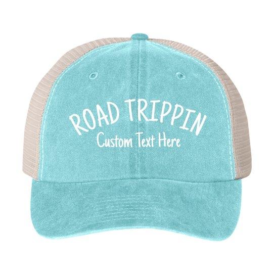 Custom Road Trip Group Hats