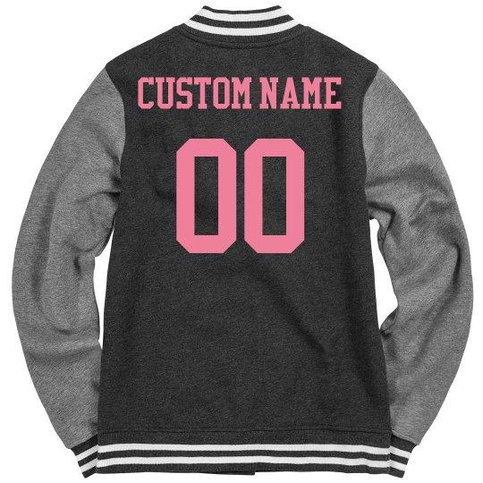 Custom Roller Derby Jacket For Her