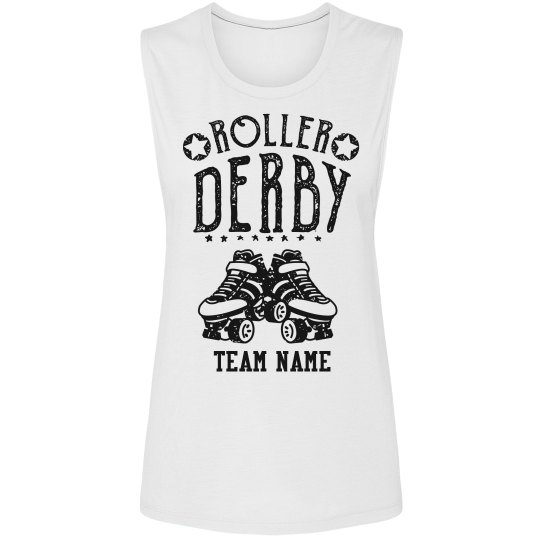 Custom Roller Derby Muscle Tank
