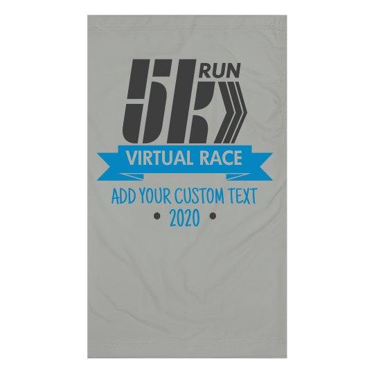 Custom Running 5K Race Face Mask