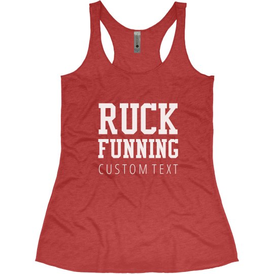 Custom Running Regret Racerback
