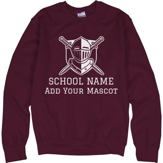 Custom School & Mascot Sweater