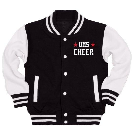 Custom School & Name Cheer Jacket