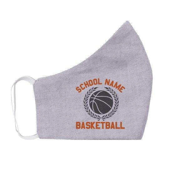 Custom School Basketball Youth Mask