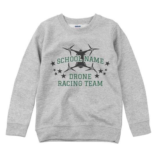 Custom School Drone Team Sweatshirt