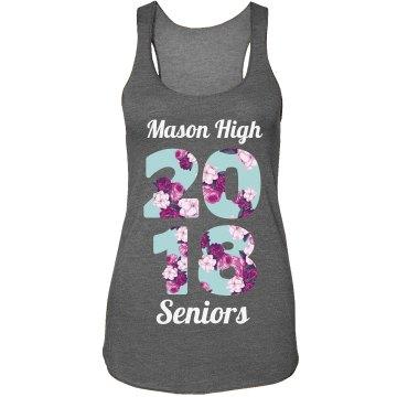 Custom School Floral Seniors 2018