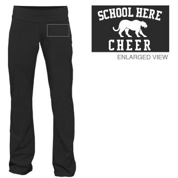 Custom School Mascot Cheer Sweats