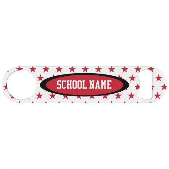Custom School Name Bottle Opener