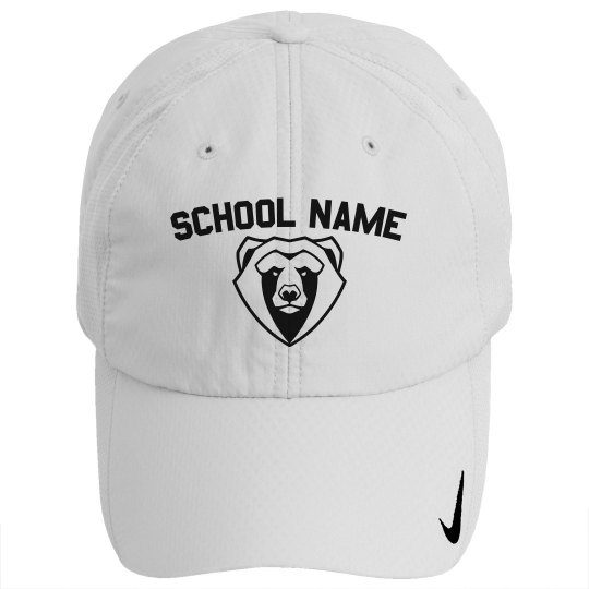 Custom School Name Mascot Hat