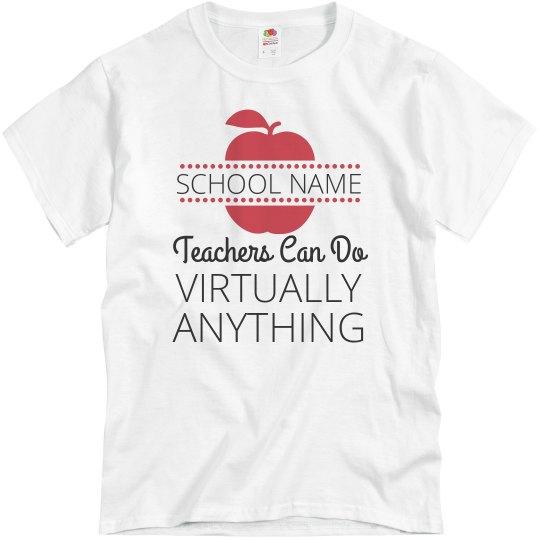 Custom School Name Virtual Teaching