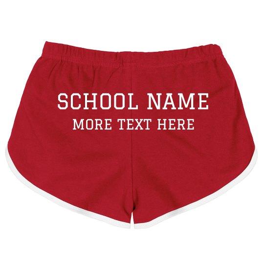 Custom School Name Warmups