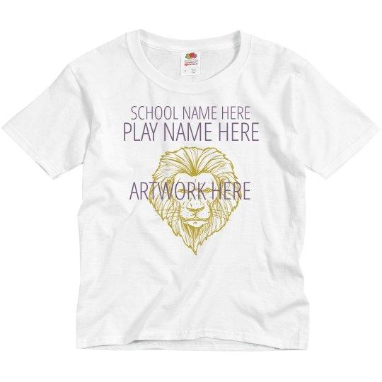 Custom School Play T-Shirt