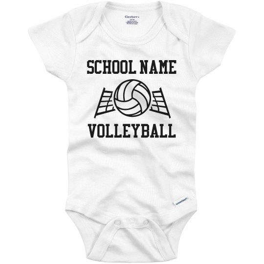 Custom School Volleyball Team Name