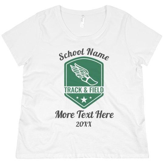 Custom School Year Track Tee