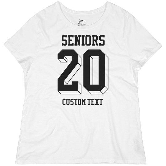 Custom Seniors Plus Tee