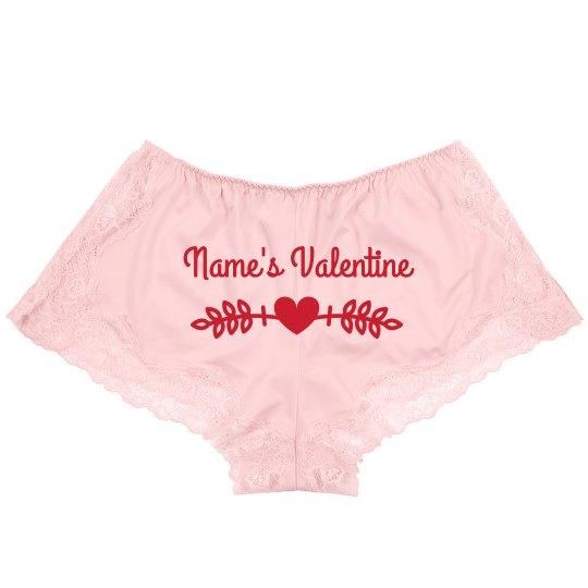 Custom Sexy Valentine Lingerie Underwear