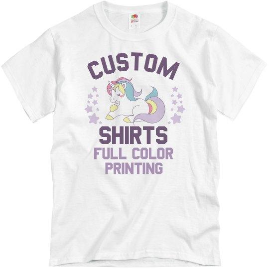 Custom Shirts Full Color Printing