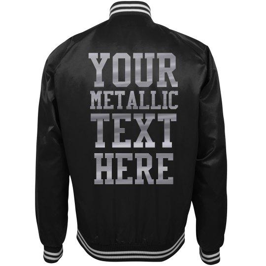 Custom Silver Metallic Design