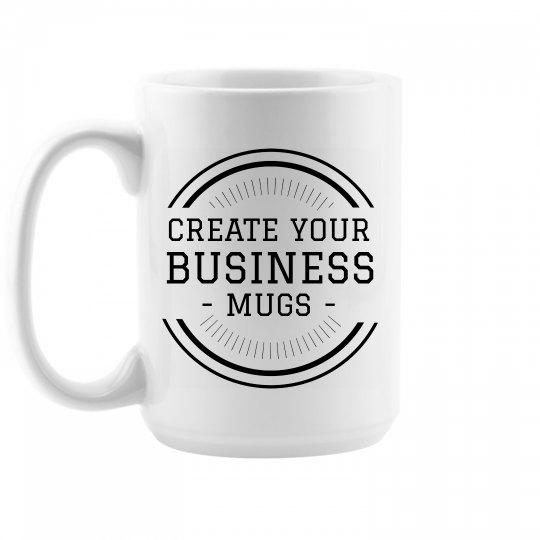 Custom Small Business Mugs