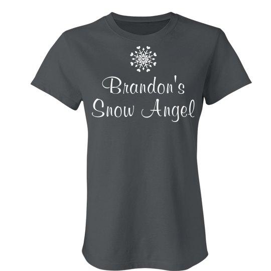 Custom Snow Angel Tee
