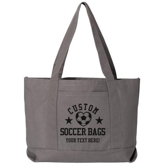 Custom Soccer Bags For Mom