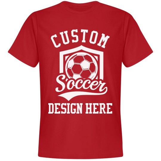 Custom Soccer Design Tee