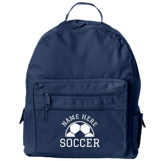 Custom Soccer Kids Backpack