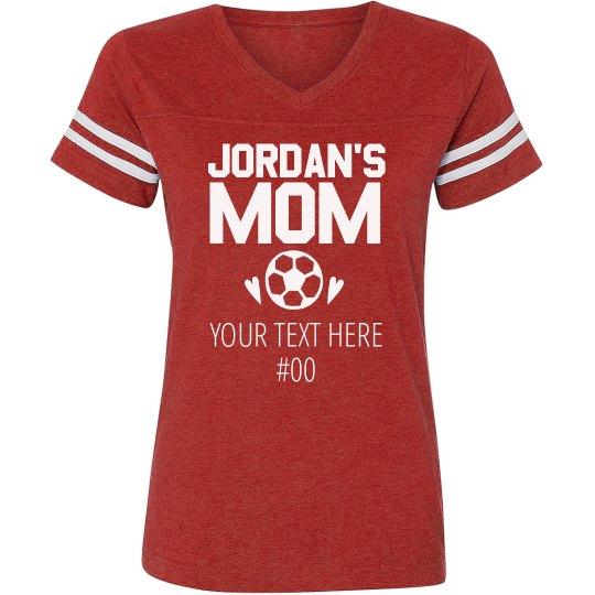 Custom Soccer Mom Name Jersey