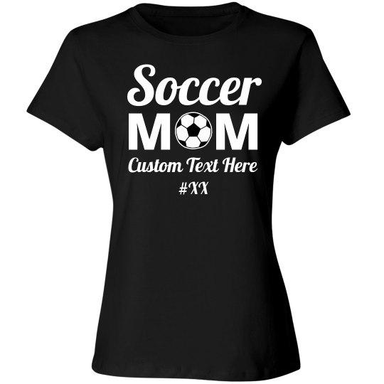 Custom Soccer Mom Number