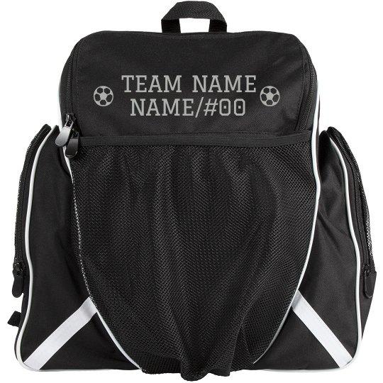 Custom Soccer Team Name Bag