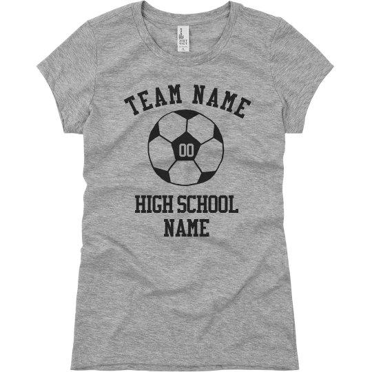 Custom Soccer Team Shirt