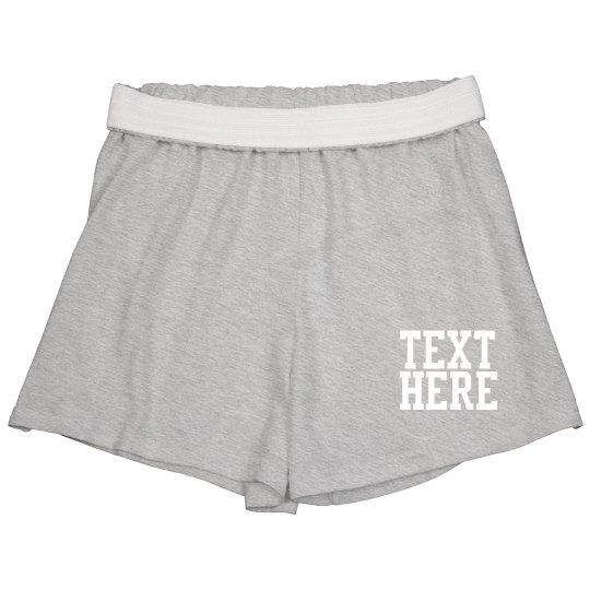 Custom Soffe Gym Shorts