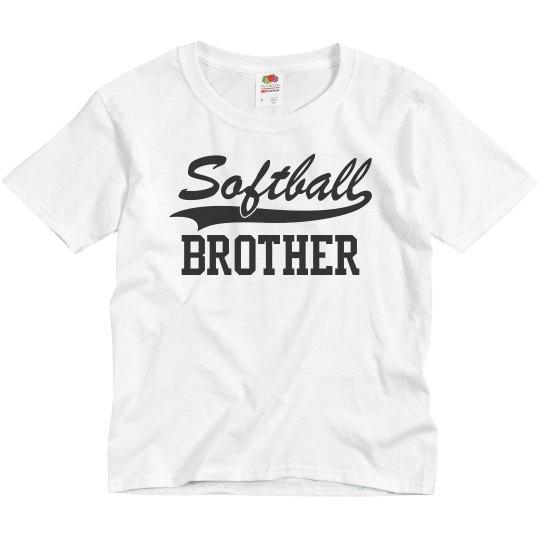 Custom Softball Brother Fan