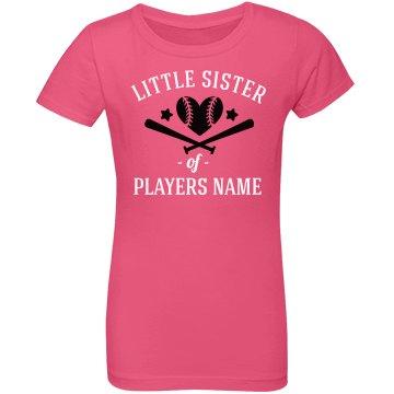 Custom Softball Little Sister