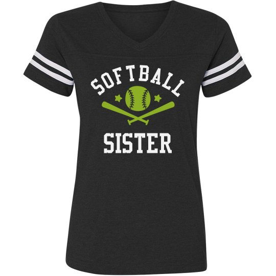 Custom Softball Sister Jersey