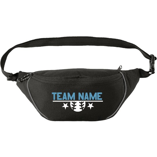 Custom Softball Team Name Star Fanny Pack