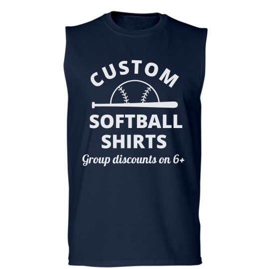 Custom Softball Team Shirts