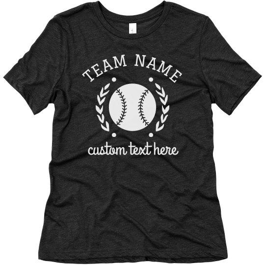 Custom Softball Tees for the Whole Team
