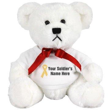 Custom Soldier Teddy Bear