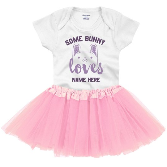 Custom Somebody Loves Me Onesie