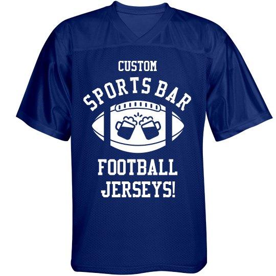 Custom Sports Bar Jersey