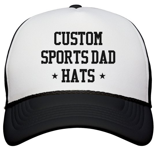 Custom Sports Dads Snap Back