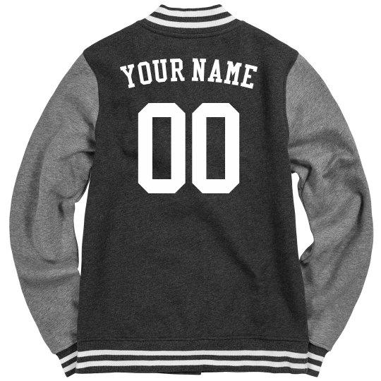 Custom Sports Letterman Jacket