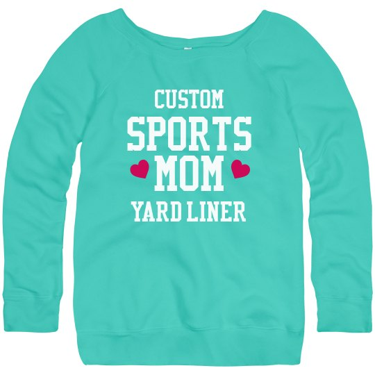 Custom Sports Mom Sweatshirt