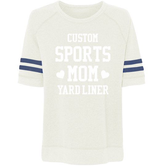 Custom Sports Mom Yard Liner