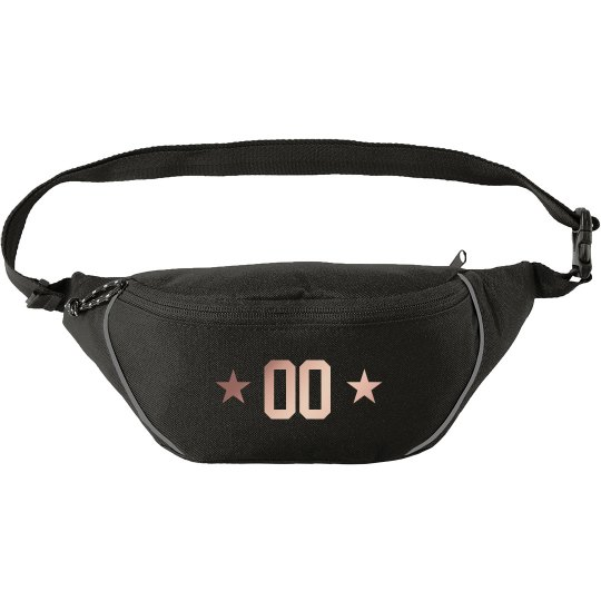 Custom Sports Number Fanny Pack