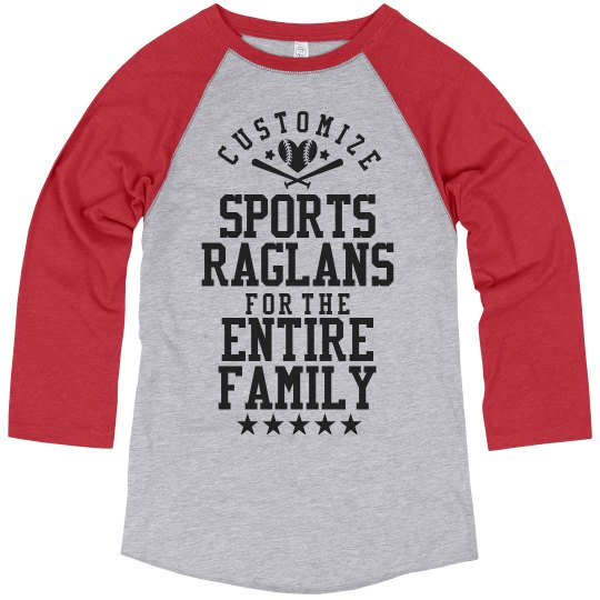 Custom Sports Ragans for Dad
