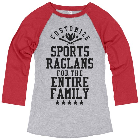 Custom Sports Ragans for Mom