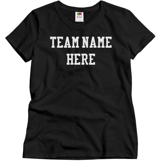 Custom Sports Team & Name/Number