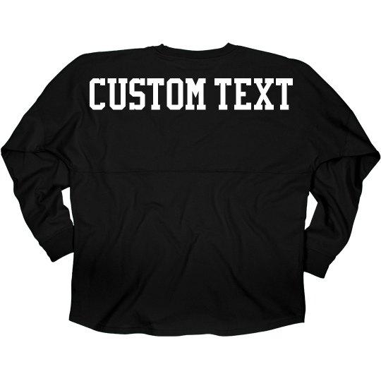 Custom Sporty Long-Sleeve Jersey